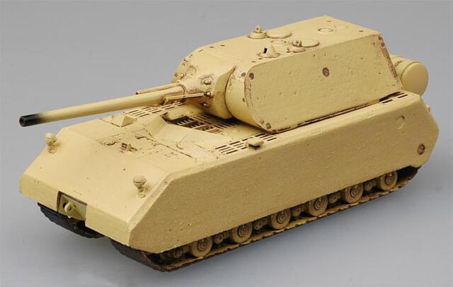 """EASY MODEL® 36206 German Tank Maus """"War Used"""" Fertigmodell in 1:72"""