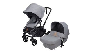 Brand New High End Baby Stroller - 2 in 1