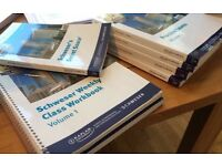 CFA & Schweser Level 2 Books, Flashcards and Practice Exams