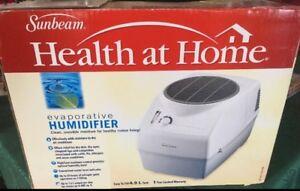 Sunbeam Health at Home Humidifier!