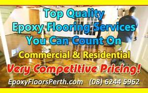 Top Epoxy Flooring Services - Residential & Commercial, Melville Melville Melville Area Preview