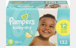 Pampers baby dry - size 2, 3, 4 and 5