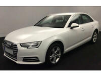 White AUDI A4SALOON1.4 1.6 1.8 2.0 TFSI Petrol S LINE S-T FROM £67 PER WEEK!