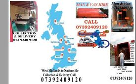 Brierley Hill House Removal Man Van Rental Flat Shifting Self Storage Collection& Delivery to All UK