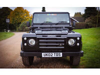 Land Rover DEFENDER 90 2002 It has 200bhp and is 0-60 in 8.5 seconds! It is HPI Clear
