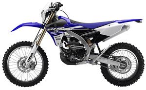 Motocross-Yamaha WR250F 2015 + 4x9 trailer. 1 seul taxes!!!