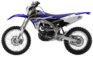 Motocross Semi trail- Yamaha WR250F 2015