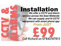 CCTV & Burglar Alarms Nottingham