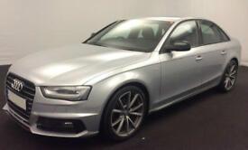 Silver AUDI A4 SALOON 1.8 2.0 TDI Diesel BLACK EDITION FROM £62 PER WEEK!