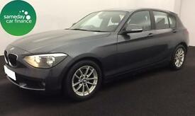 £184.87 PER MONTH GREY 2012 BMW 116D 1.6 EFFICIENT DYNAMICS 5 DOOR DIESEL MANUAL