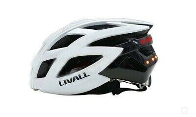 LIVALL BH60SE Smart Bluetooth De Casco Bicicleta LED Bliker Blanco 55-61CM -...