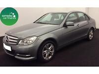 £246.56 PER MONTH SILVER 2013 MERCEDES-BENZ C220 2.1 EXECUTIVE SE 4 DOOR