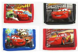 4pcs Disney McQueen Pixar Car Kids Boys Purses Wallets Bag Party Christmas Gifts