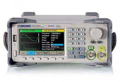 Siglent Sdg1062x Functionarbitrary Waveform Generator 2 Channels 60 Mhz 150 Msa