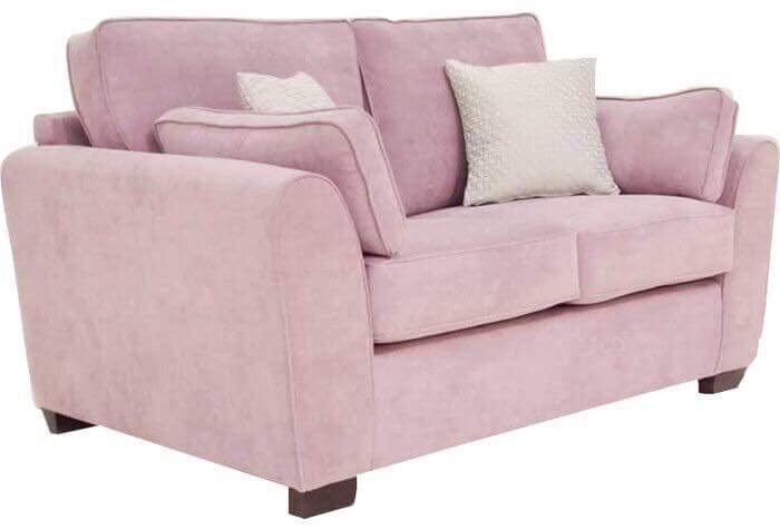 Way Fair 2 Seater Lilac Sofa Bed Perfect Condition Used Once Very Comfortable