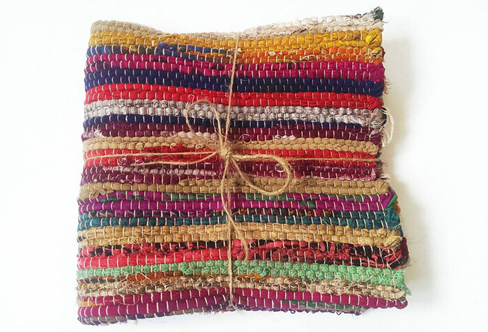 Weaving A Rug By Hand Is Another Simple Way To Make Using S Fabric Or Any Desired Material Complete This Pattern Crafters Need Piece Of