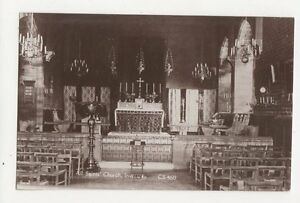All-Saints-Church-Inveraray-Vintage-RP-Postcard-257a