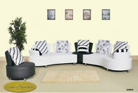 ★LORD SELKIRK FURNITURE★BRAND NEW 3PC SECT, CH, & COFFEE TABLE