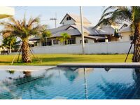 LUXURY 4 Bed BUNGALOW FOR SALE (HUA HIN< THAILAND) Fantastic peaceful location 10 mins from beach