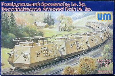 - UM-MT Models 1/72 GERMAN ARMORED RECONNAISSANE TRAIN Le.Sp.