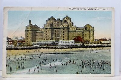 New Jersey NJ Atlantic City Traymore Hotel Postcard Old Vintage Card View Post Traymore Atlantic City New Jersey