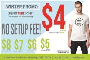 Winter Promo Shirts @ $4 and Up!