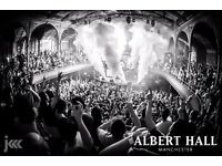 Fatboy Slim @ Albert Hall - Manchester Warehouse Project 10th Dec - 2 TICKETS