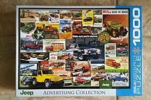 Jeep Advertising Collection Puzzle 1000 pieces