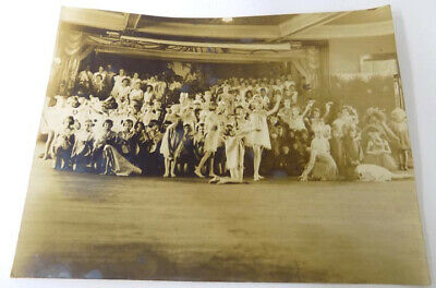 Vintage Photo High Point NC Large Group of Costumed Kids on Stage Pageant](Large Group Costumes)