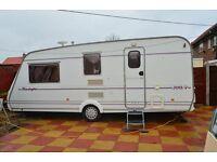 Compass Kensington 500/4 1999 Touring Caravan