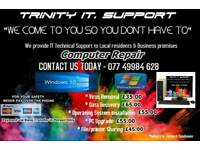 computer repairs / IT Support Residential & Business premises