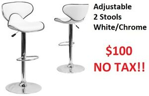 Brand New Bar stools - 3 styles – Pack of 2 ------------------