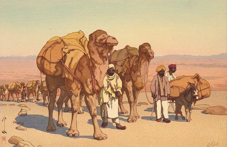 karavan silk road