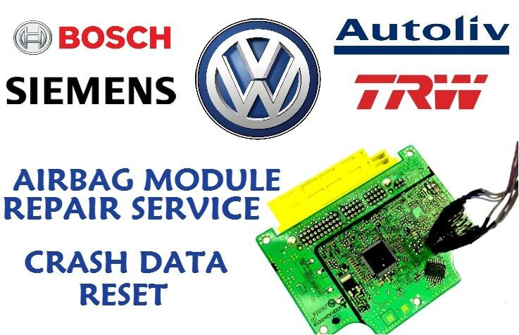 VW BEETLE 6Q0909605AC SRS MODULE FAULT ERROR 00003 014 DEFECTIVE REPAIR SERVICE