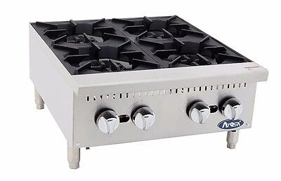 Atosa Athp-24-4 Commercial 24 4 Burner Hot Plate Countertop Range Gas