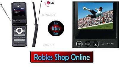 LG HB620T Black (Ohne Simlock) 3G 3BAND Fernsehen DVB-T TV Gratis 2MP TOP OVP ()
