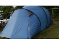 4 MAN, DOUBLE BEDROOM TENT