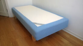 IKEA single bed + mattress topper [Pickup only]