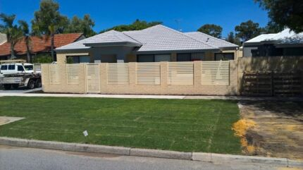 Colorbond fencing and gates