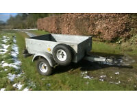 Heavy Duty Tipping Trailer.