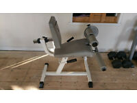 Seated Leg Curl & Extension Machine Quads