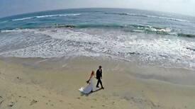 Drone wedding photography / filmography.