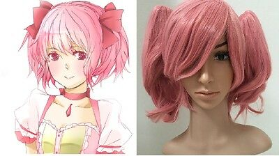 Kriemhild Gretchen  Pink COSPLAY Wig with Pigtail 51000 (Pink Pigtail Wig)