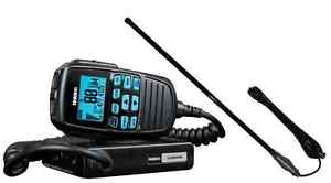 UNIDEN-UH8060NB-UHF-RADIO-CH5T-BLACK-UHF-RUGGED-ANTENNA-BNIB-4WD-CARS-VEHICLE