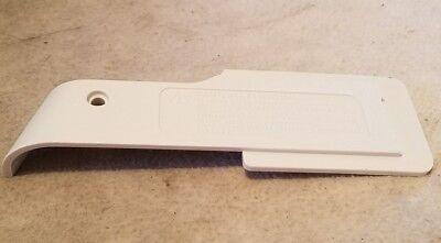 Oreck XL Uprights Vacuum Cleaner Belt Door White 75057010431 - Oreck Belt Door