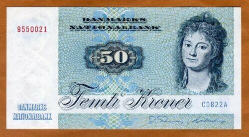Denmark, 50 Kroner, serie 1972, 1982, P-50e, aUNC