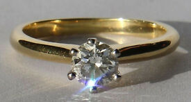 0.52 carat Diamond Solitaire Ring