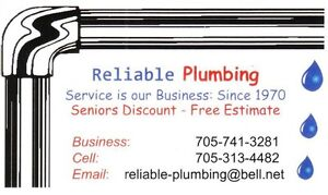 Plumbing and Hot Water Heat Service Peterborough Peterborough Area image 1