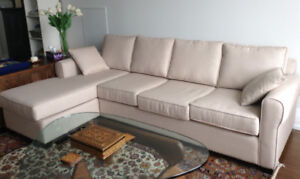 Urban Barn sectional, excellent condition!