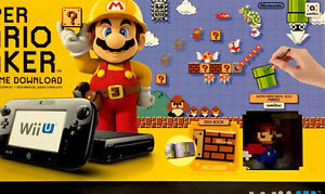 Mario Maker Deluxe (New for the WII U)